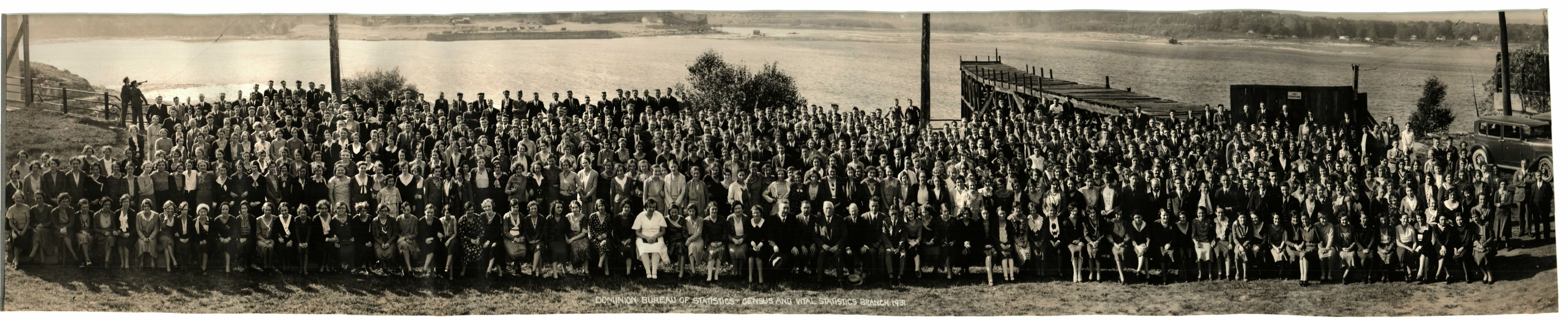 1931 Employees of the census and vital statistics branch