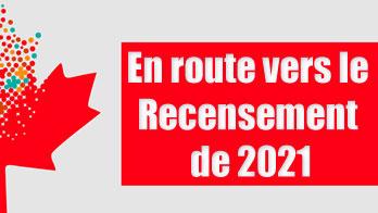 En route vers le Recensement de 2021