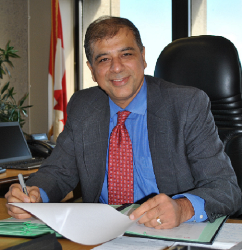 Anil Arora - Chief Statistician of Canada