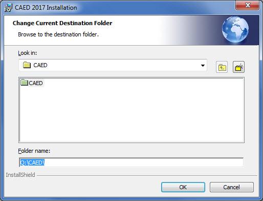 Select Destination Directory Browsing.