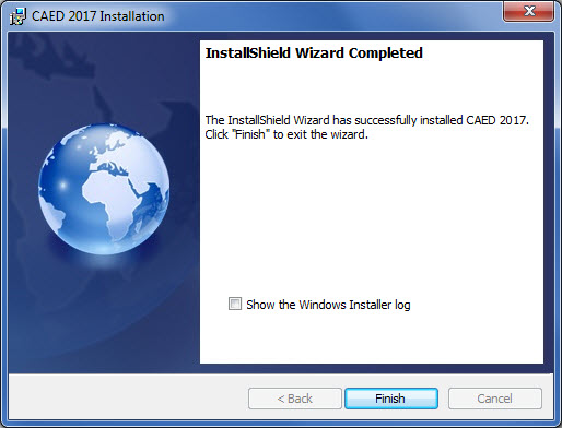 InstallShield Wizard Completed.