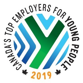 Canada's top employers for young people award