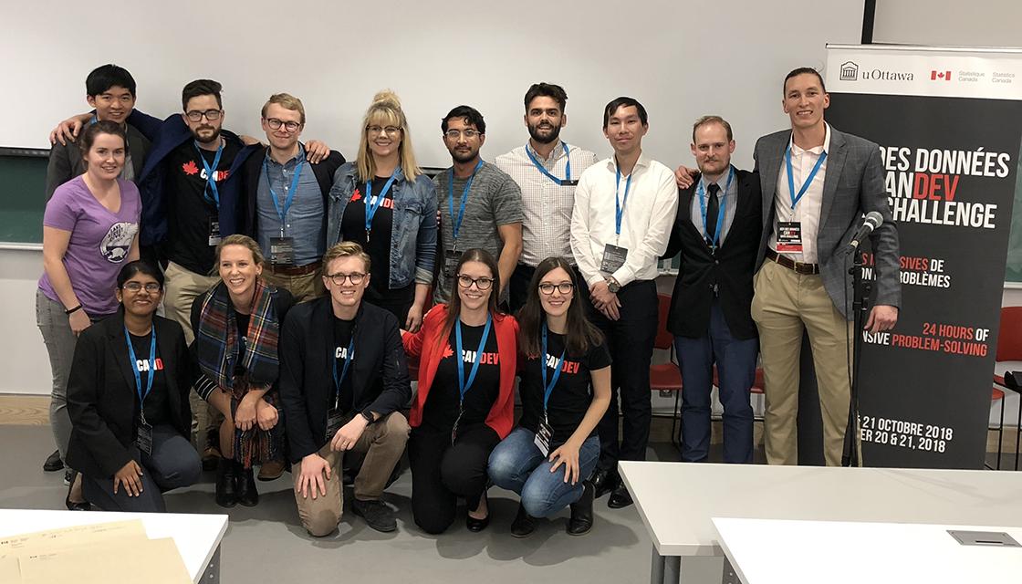 équipe organisatrice de Défi des données - CANDEV