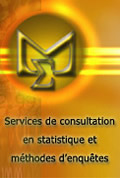 Service de consultation en statistique et méthodes d'enquêtes