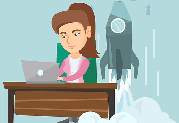 Less than one-fifth of start-ups are majority owned by women