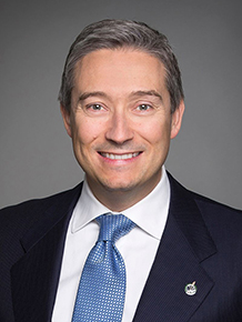 Photo of the Honourable François-Philippe Champagne