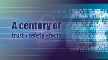 A century of trust, safety and facts