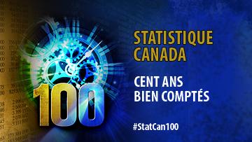 Statistique Canada - Cent ans bien comptés - #StatCan100