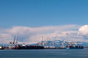 Vancouver's loading dock