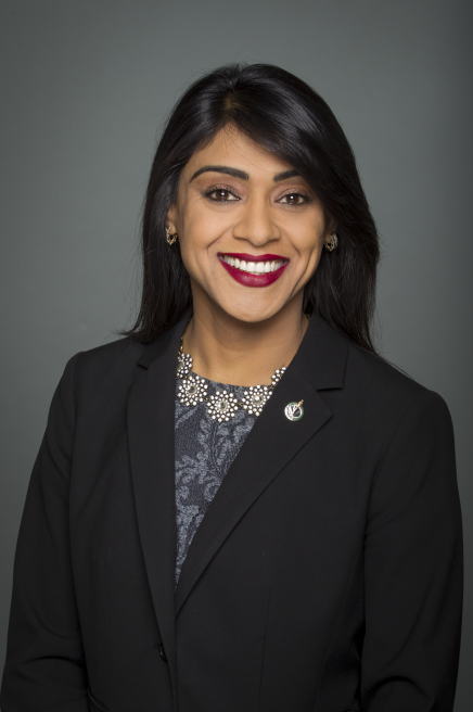 The Honourable Bardish Chagger, Minister of Small Business and Tourism