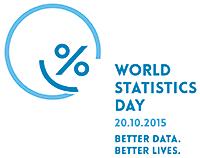 World Statistics Day - 20.10.2015 - Better data. Better lives.