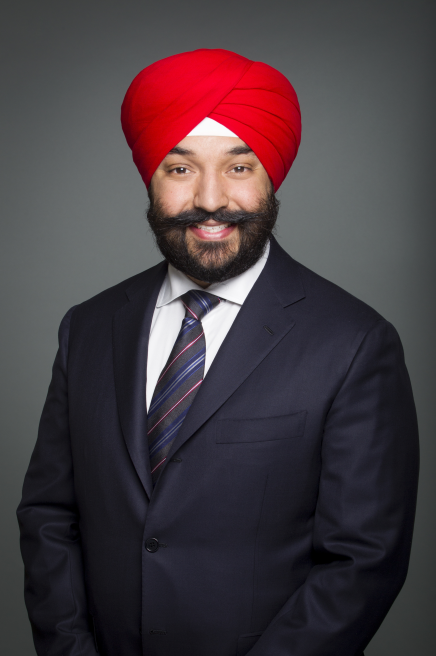 Photo of The Honourable Navdeep Bains