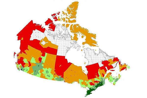 Developing Meaningful Categories for Distinguishing Levels of Remoteness in Canada