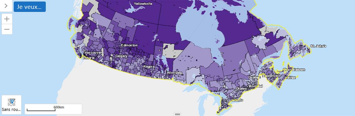 Système de suivi de la criminalité dans les communautés canadiennes
