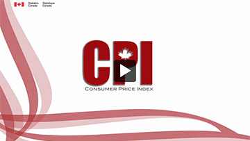 Statistics Canada Training Institute – Consumer Price Index