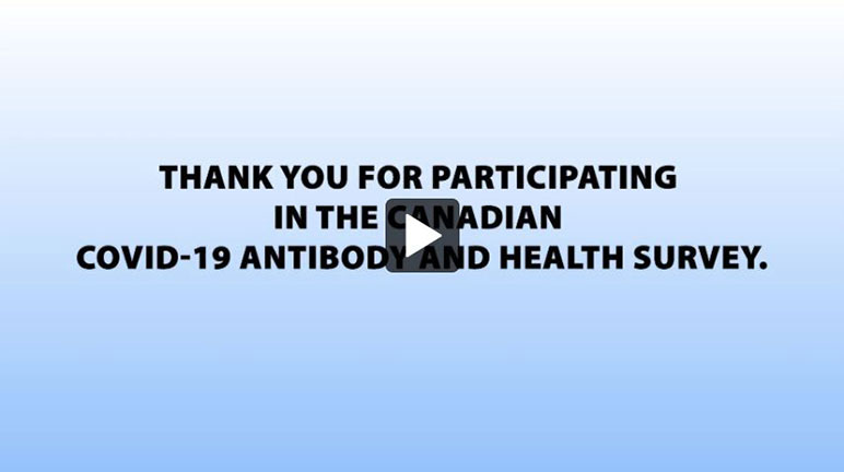 Canadian COVID-19 Antibody and Health Survey - thumbnail