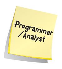 Programmer/Analyst