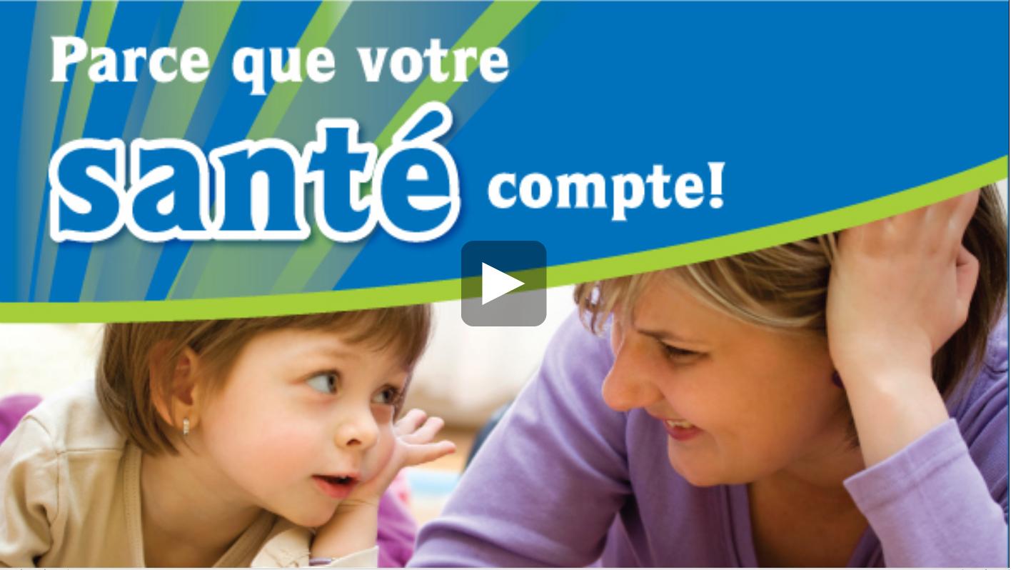 Enquête canadienne sur les mesures de la santé vidéo